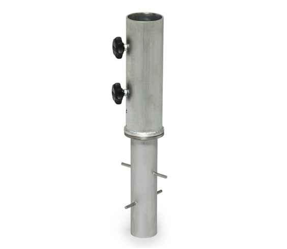 BODENHÜLSE 62 mm zum Einbetonieren