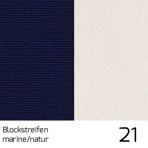 Dolan Streifen marine-natur 21 | 100% Polyacryl (Dralon®)