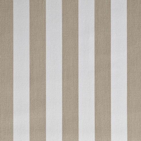 61 – ACRYLTUCH Retro Streifen sand/weiss