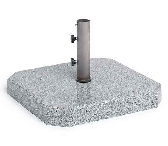 Granitständer 75 kg poliert, Rohr 62 mm