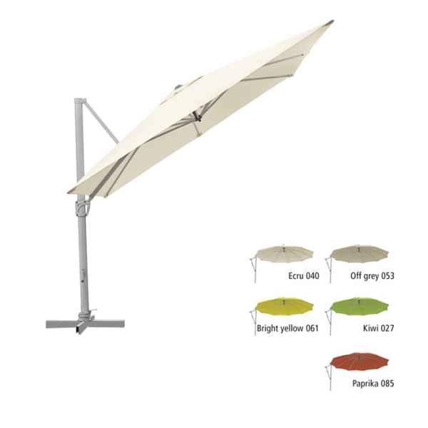 SUNFLEX Sonnenschirm 300 x 300 cm quadratisch 040 ecru