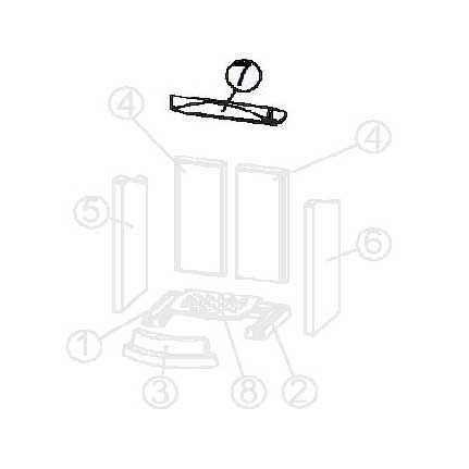FLOK / FLOK 2.0 Keramott Umlenkplatte (Ziffer 7)