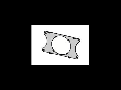 ELEMENTS Rauchrohrhalterung 17,6 x 30 cm