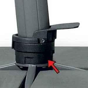 Fortano Drehfuss M4 - Nur in Verbindung mit Fortano Freiarmschirm