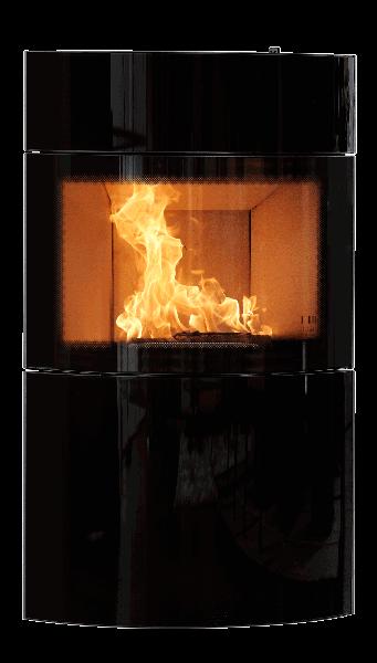 Fynn Kaminofen Front Glas | Austroflamm