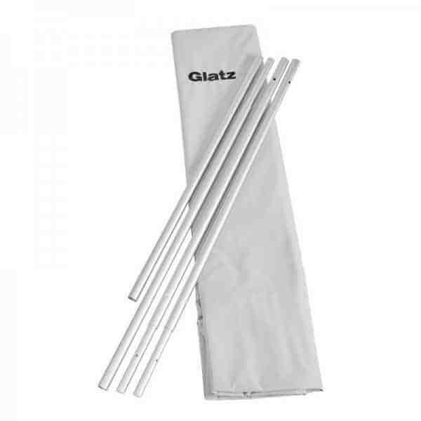 Aura Schutzhülle mit Stab und Reißverschluss, 100% Polyester