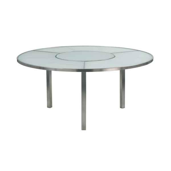 O-ZON Tisch 185 cm rund