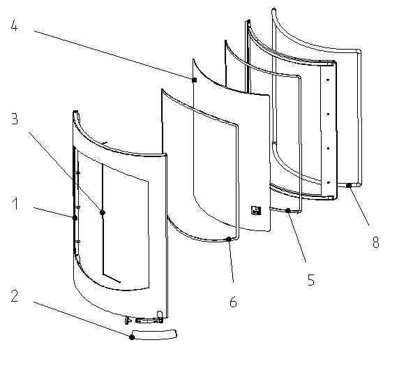 KOKO / KOKO Xtra 2.0 Flachdichtung Scheibe aussen 8 x 2 x 1420 mm