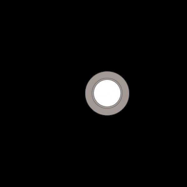 Rosette, Ø 150 mm, platin