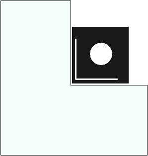 Vorlegeplatte für Elements Kaminofen feststehend, 1115 x 1040 mm, Form 4