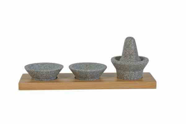 Handmörser-Set aus Granicium