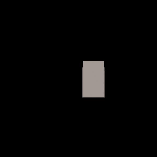 Rauchrohr 250 mm, Ø 150 mm, platin