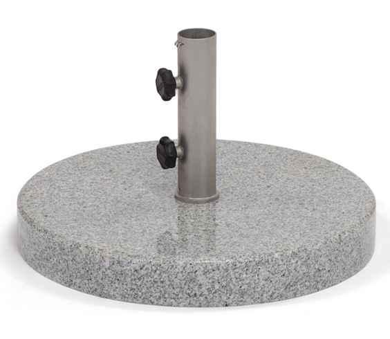 Granitständer 63 kg poliert, Rohr 62 mm