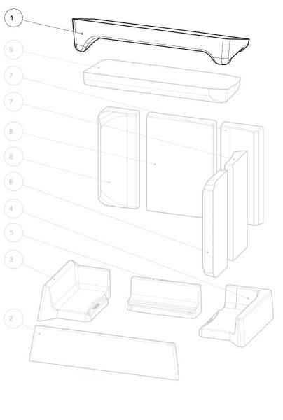 DEXTER / DEXTER 2.0 L Keramott Zugplatte 2