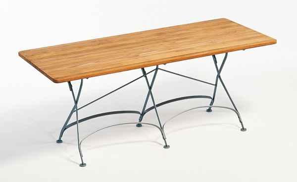 CLASSIC Klapptisch 180 x 80 cm rechteckig