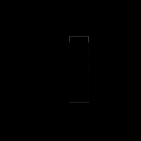 Rauchrohr 500 mm mit Drosselklappe