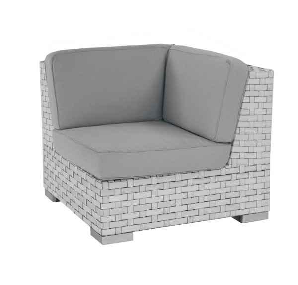 Monte Carlo Gartenmöbel: Lounge Eckmodul