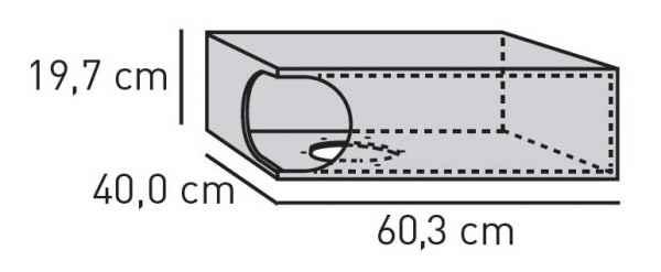 ELEMENTS Sonder-Box geschraubt 60 cm