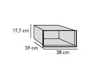 ELEMENTS Strahlschutz-Einsatz 40 cm