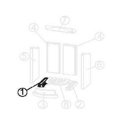 FLOK / FLOK 2.0 Keramott Boden links (Ziffer 1)