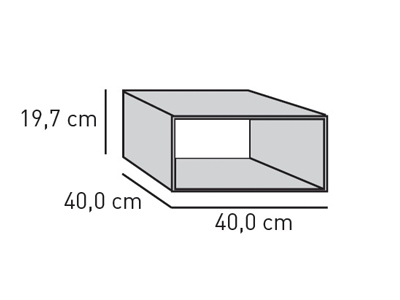ELEMENTS Optik-Tunnel-Box 40 cm