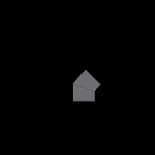 Winkelrohr 45°, Ø 120 mm, gussgrau
