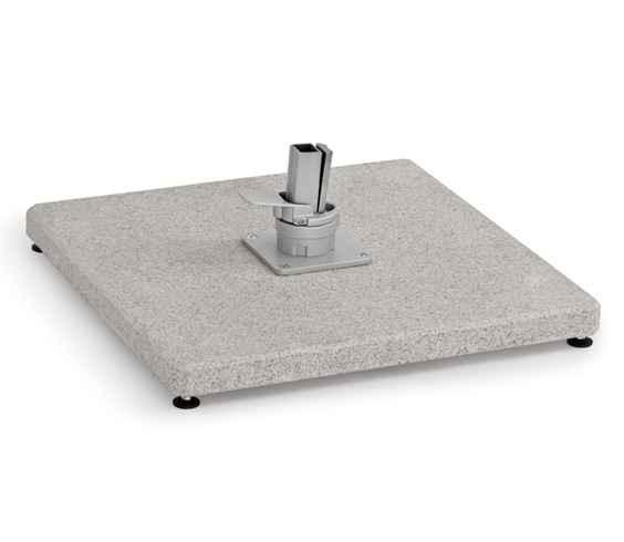 Granitständer 125 kg porös für Freiarmschirm