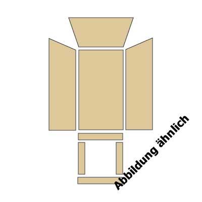 MILANO / MILANO Stein Feuerraumauskleidung komplett
