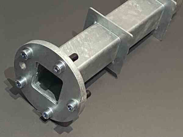 Akzentro Bodenhülse M4 Stahl verzinkt, für Aura / Ambiente Nova Sonnenschirm