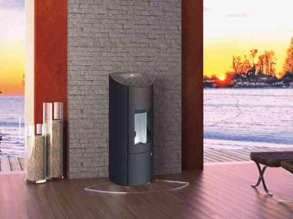 LEVANA Aqua 2.0 Pelletofen wasserführend 8 kW