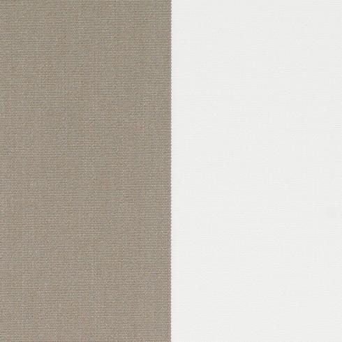 38 - DOLAN® Streifen taupe/weiss