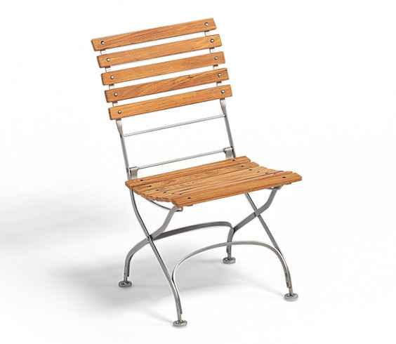 CLASSIC Klappstuhl ohne Armlehnen