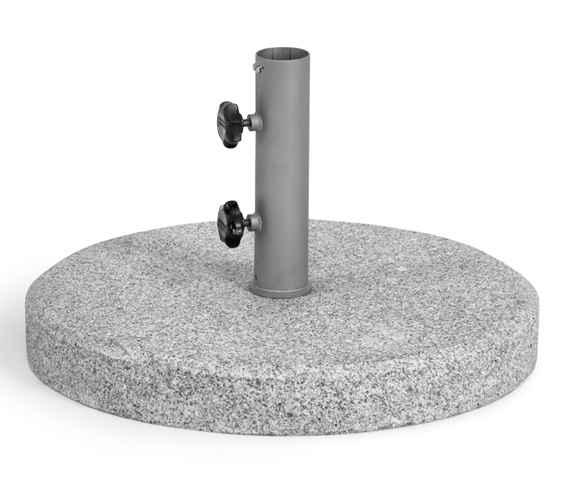Granitständer 63 kg poliert, Rohr 64 mm