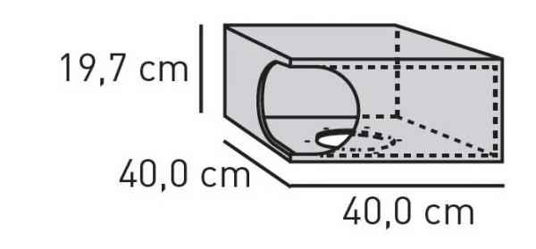 ELEMENTS Sonder-Box geschraubt 40 cm